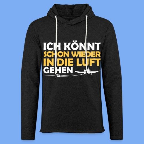 Segelflieger lustiges Design - Light Unisex Sweatshirt Hoodie