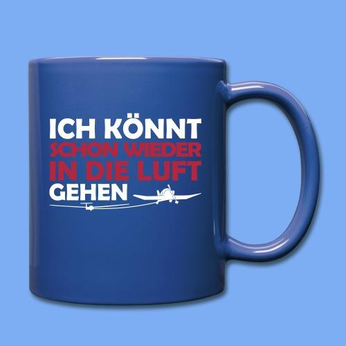Segelflieger lustiges Design - Full Colour Mug