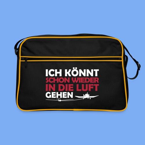 Segelflieger lustiges Design - Retro Bag