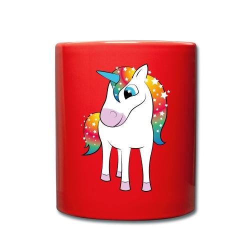 Einhorn - Tasse einfarbig
