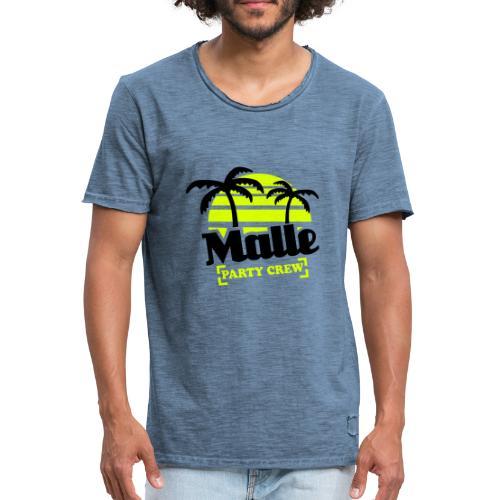 Malle - Männer Vintage T-Shirt