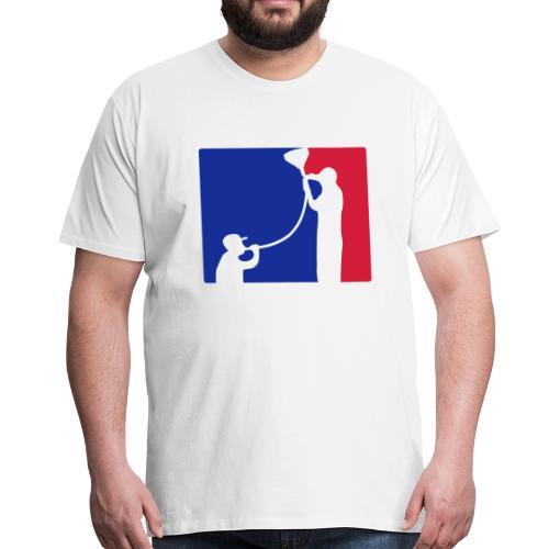 Biertrichter - Männer Premium T-Shirt