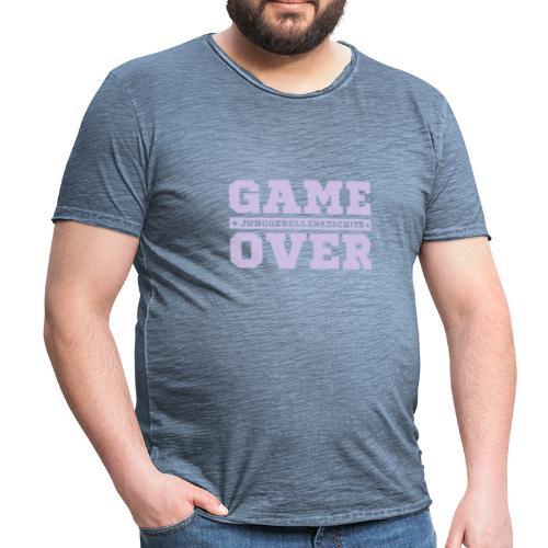 Game Over - Männer Vintage T-Shirt