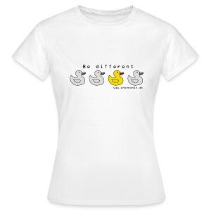 Damen-Shirt Be Different - Frauen T-Shirt