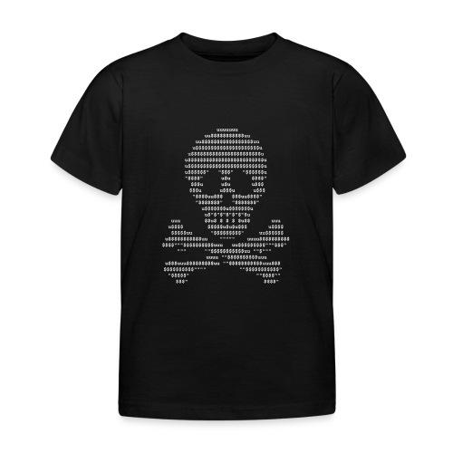 Ascii-Skull white