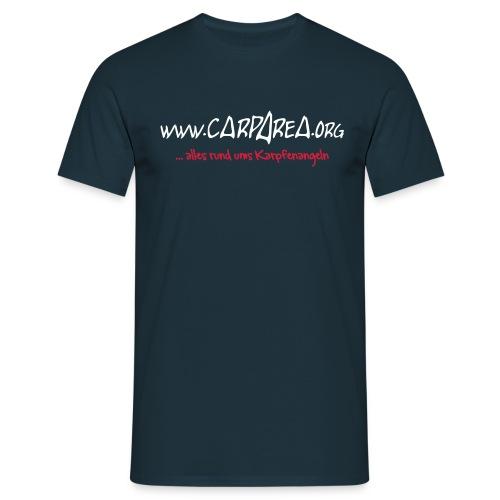 www.carparea.org T-Shirt mit Logo - Männer T-Shirt