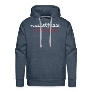 www.carparea.org Hooded Sweat mit Logo - Männer Premium Hoodie
