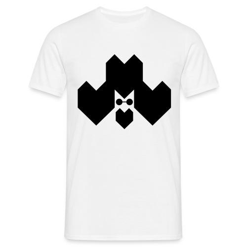 Afro/ White/ Detail in the back - Men's T-Shirt
