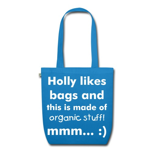 Holly Kirby Music Groovy Bag :) - EarthPositive Tote Bag