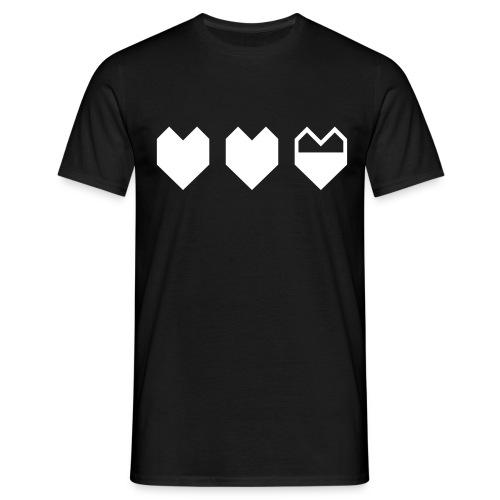 Life/ Black - Men's T-Shirt