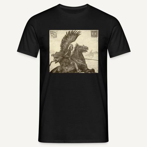 Husarz wg. Bendy (kolorowa) husaria - Koszulka męska