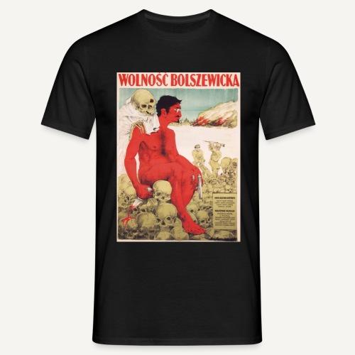 Wolność bolszewicka (kolorowa) - Koszulka męska