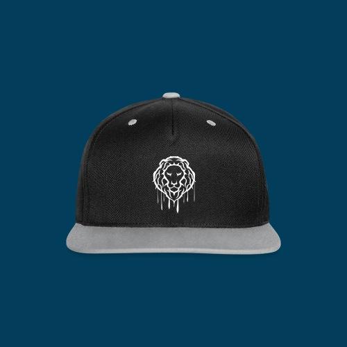 LION CAP - Kontrast Snapback Cap