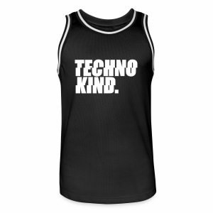 Techno Kind - Trikot - Männer Basketball-Trikot