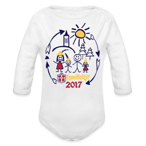 FDF Familielejr 2017 Langærmet body - Langærmet babybody, økologisk bomuld