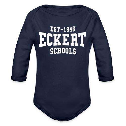 EST-1946 Eckert Schools Baby Bio langarm Strampler - Baby Bio-Langarm-Body