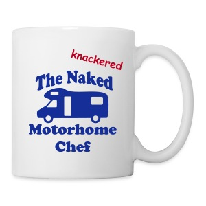 Mug - Knackered Motorhome Chef - Mug