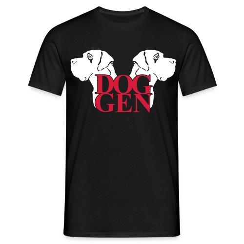 Doggen-Köpfe - Männer T-Shirt