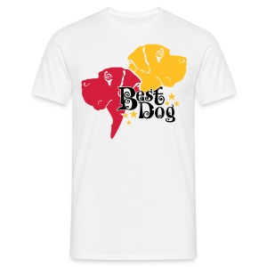 Best Dog  - Männer T-Shirt