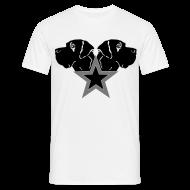 T-Shirts ~ Männer T-Shirt ~ Stern-Köpfe