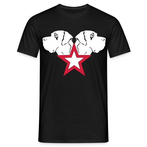 Stern-Köpfe - Männer T-Shirt