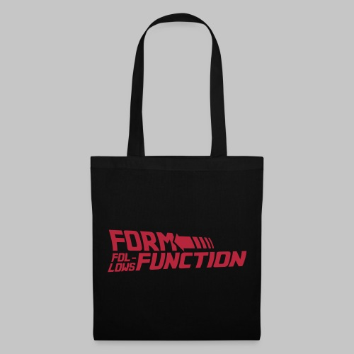 Form follows Function - Stoffbeutel