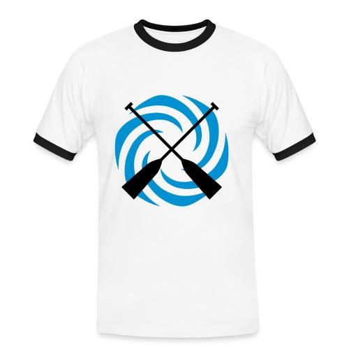 Turbine Paddel - Männer Kontrast-T-Shirt