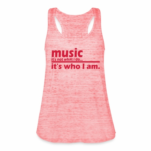 Music is who i am - Frauen Tank Top von Bella