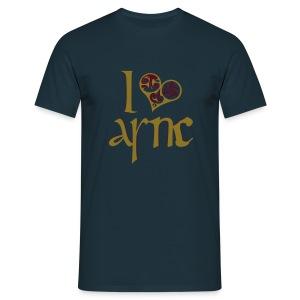 I Love ASNC Men's Shirt - Men's T-Shirt