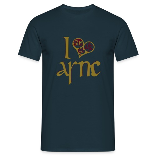 I Love ASNC Men's Shirt - Men's T-Shirt