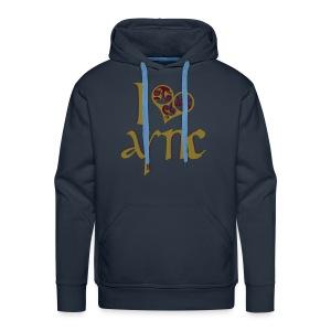 I Love ASNC Men's Hoodie - Men's Premium Hoodie