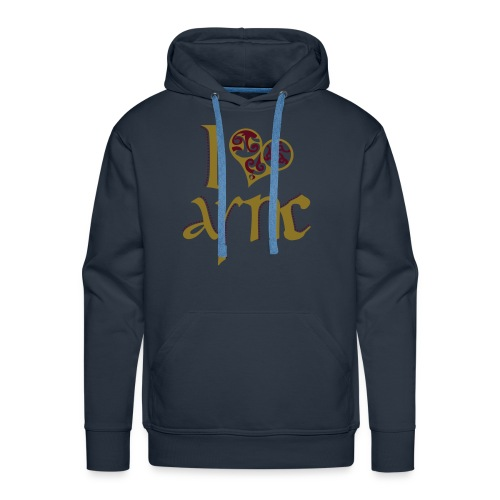 I Love ASNC Men's Hoodie - Men's Premium Hoodie