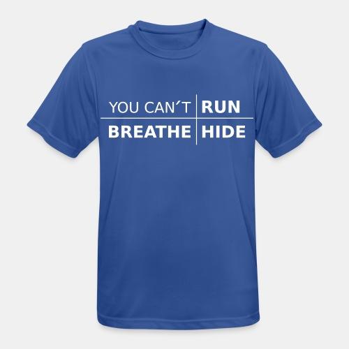 Herr Tränings T-Shirt - You Can't med färgval - Andningsaktiv T-shirt herr