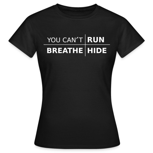Ladies Cotton T-Shirt You Can´t UWR with color options - T-shirt dam
