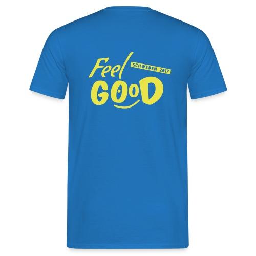 Freizeit T-Shirt Logo hinten - Männer T-Shirt