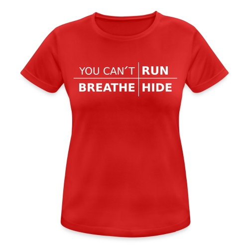 Ladies Training T-Shirt You Can´t UWR with color options - Andningsaktiv T-shirt dam