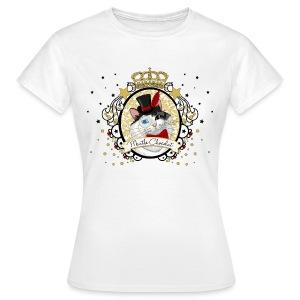 T-shirt femme - Le Portrait du Chat - Clair - T-shirt Femme