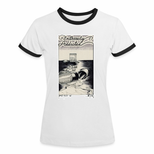 2 color - Women's Ringer T-Shirt