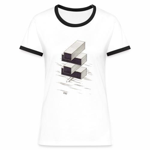 2 color - Women's Ringer T-Shirt