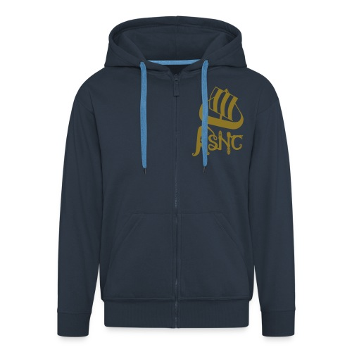 ASNC Society Logo Men's Hooded Jacket - Men's Premium Hooded Jacket