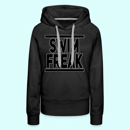 Swim Freak Hoodie für Frauen - Frauen Premium Hoodie