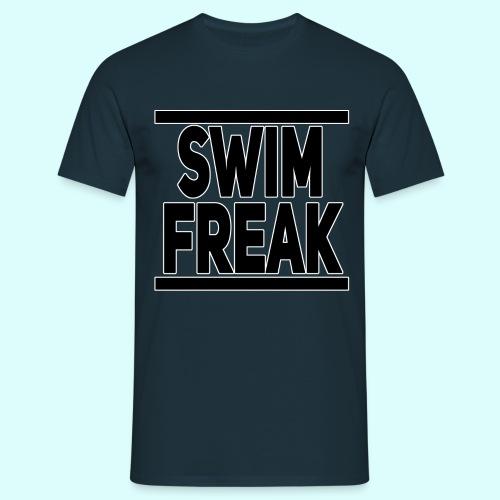 Swim Freak T-Shirt für Männer - Männer T-Shirt