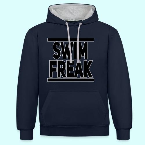 Swim Freak Kontrast-Hoodie Unisex - Kontrast-Hoodie