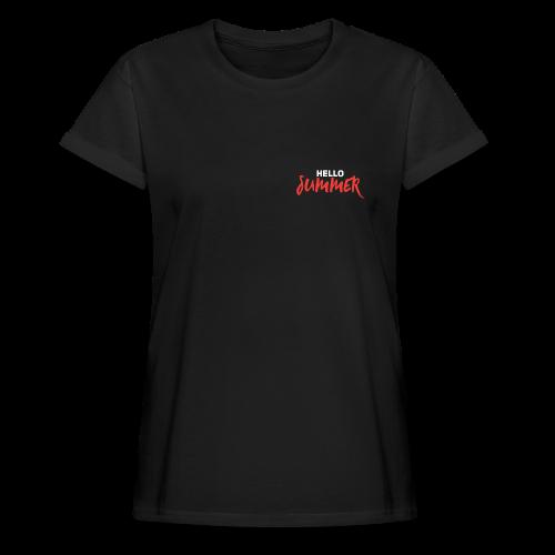 Hello Summer - Frauen Oversize T-Shirt