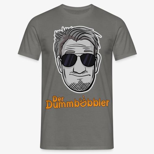DerDummbabbler Face & Schriftzug T-Shirt - Männer T-Shirt