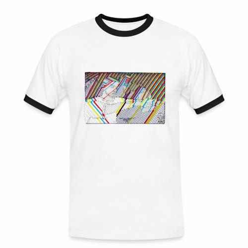 2 color - Men's Ringer Shirt