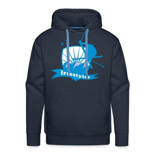 freestyle ML - Sweat-shirt à capuche Premium pour hommes