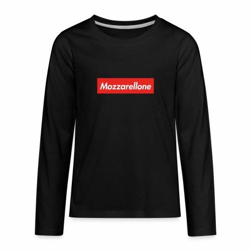 Maglia maniche lunche Mozzarellone - Maglietta Premium a manica lunga per teenager
