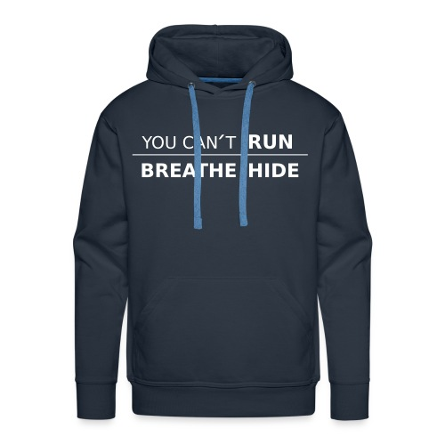 Hoodie You Can´t UWR with color options - Premiumluvtröja herr