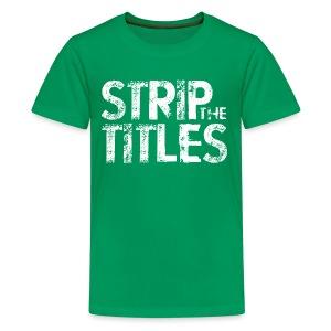 Strip The Titles